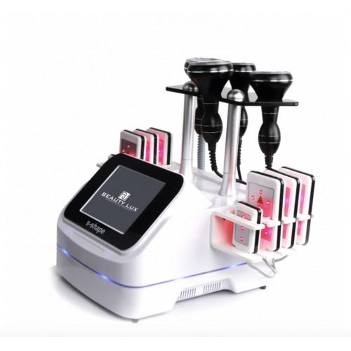Косметологический аппарат BEAUTY LUX S-ShapeВакуум, Липолазер, Кавитация,RFлифтинг