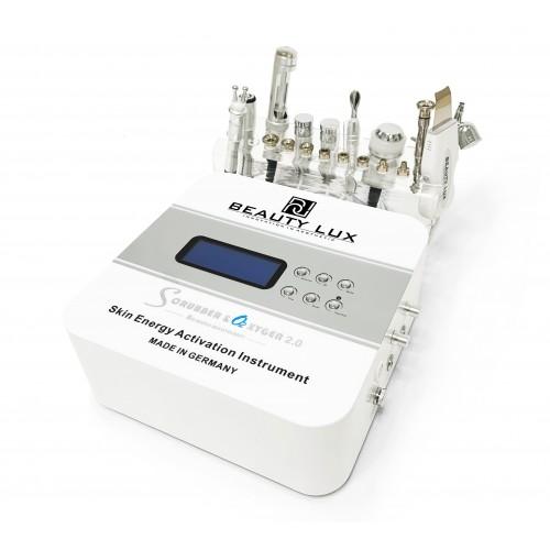 Косметологический комбайн 9 в 1 BEAUTY LUX Scrubber & O2xygen 2.0