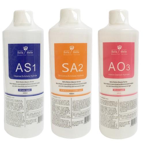 Набор растворов AS1 +SА2 + AO3 для гидропилинга 3х400 мл hydrа facial